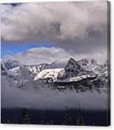 Breckenridge And Clouds  Canvas Print