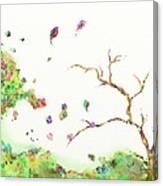 Breezy Canopy Canvas Print
