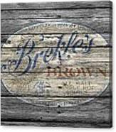 Brekles Brown Canvas Print