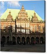 Bremen Town Hall Germany Canvas Print
