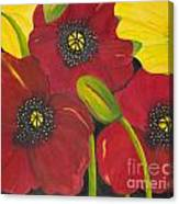 Brenda's Poppies Canvas Print