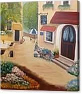 Brenda's Town Canvas Print