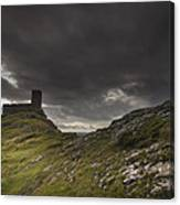 Brentor Church Dartmoor Devon Uk Canvas Print