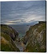 Bretagne Cliffs Canvas Print