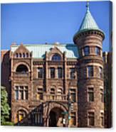 Brewmaster Castle - Washington Dc Canvas Print