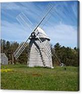 Brewster Windmill Canvas Print