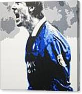 Brian Laudrup - Glasgow Rangers Fc Canvas Print
