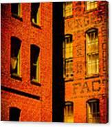 Brick And Glass Canvas Print