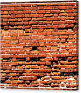 Brick Scarp Walls And Casement Gallery Canvas Print