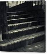 Brick Steps Canvas Print