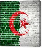 Brick Wall Algeria Canvas Print
