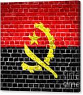Brick Wall Angola Canvas Print