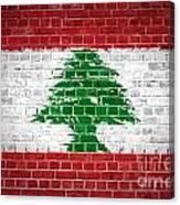 Brick Wall Lebanon Canvas Print