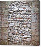 Bricked Up Doorway Canvas Print
