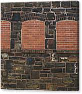 Bricked Windows   #2561 Canvas Print