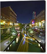 Bricktown Canal Water Taxi Canvas Print