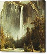 Bridal Falls Canvas Print