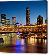 Bridge Across A River, Story Bridge Canvas Print
