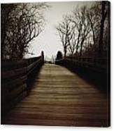 Bridge Ahead Canvas Print