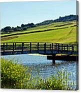 Bridge At Charmouth Canvas Print
