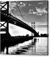 Bridge At Dawn Canvas Print
