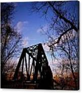 Bridge At Dusk Canvas Print