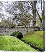 Bridge At Huntly Castle - 1 Canvas Print