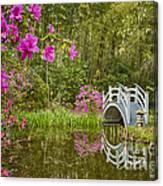 Bridge At Magnolia Plantation Canvas Print