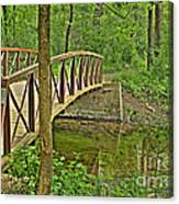 Bridge At River Bend Canvas Print