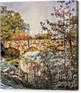 Bridge At Rock City Canvas Print