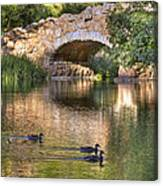 Bridge At Stow Lake Canvas Print