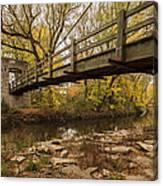 Bridge Between Seasons Canvas Print