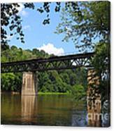 Bridge Crossing The Potomac River Canvas Print