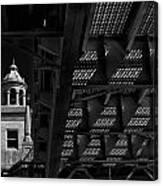 Bridge Grate Canvas Print