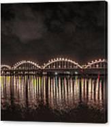 Bridge Lights Canvas Print
