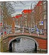 Bridge Of Delft Canvas Print