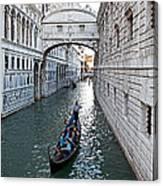 Bridge Of Sighs Canvas Print