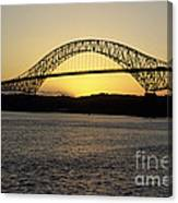 Bridge Of The Americas Panama Canvas Print