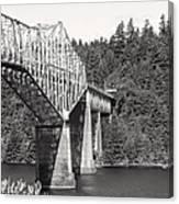 Bridge Of The Gods Canvas Print