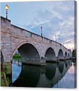 Bridge Of The River Thames At Chertsey Canvas Print