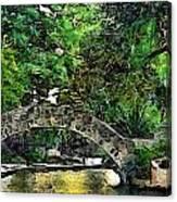 Bridge Over Canvas Print
