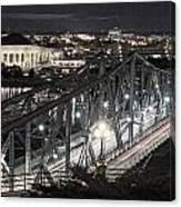 Bridge Over Ottawa River Canvas Print