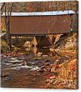 Bridge Over Smith River Canvas Print