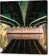 Bridge Over The Connecticut River Canvas Print