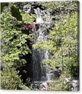 Bridge Over The Falls Canvas Print