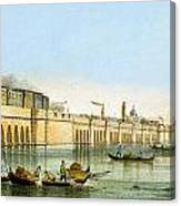 Bridge Over The Lagoon Canvas Print