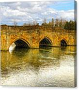 Bridge Over The River Wye Canvas Print
