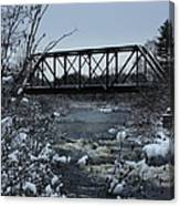 Bridge Over Troubled Waters Canvas Print
