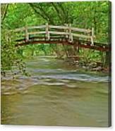 Bridge Over Valley Creek Canvas Print