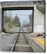 Bridge Overpass Canvas Print